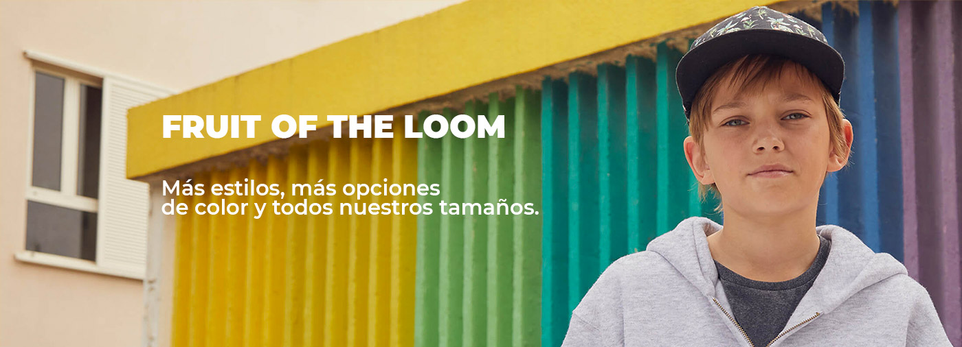 CAMISETAS FRUIT OF THE LOOM