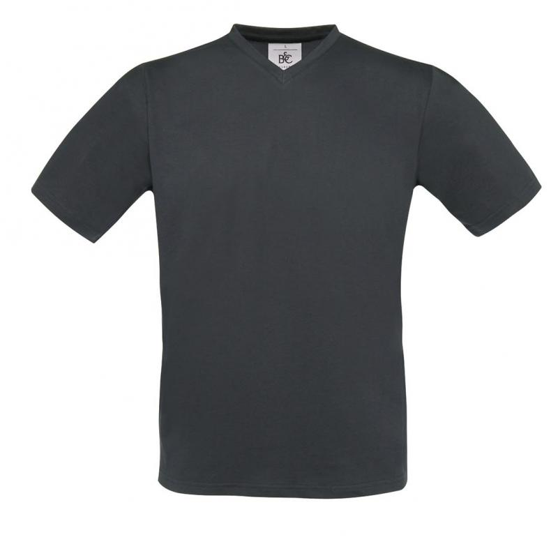 CAMISETA BC EXACT 150 V NECK 145 DARK GREY