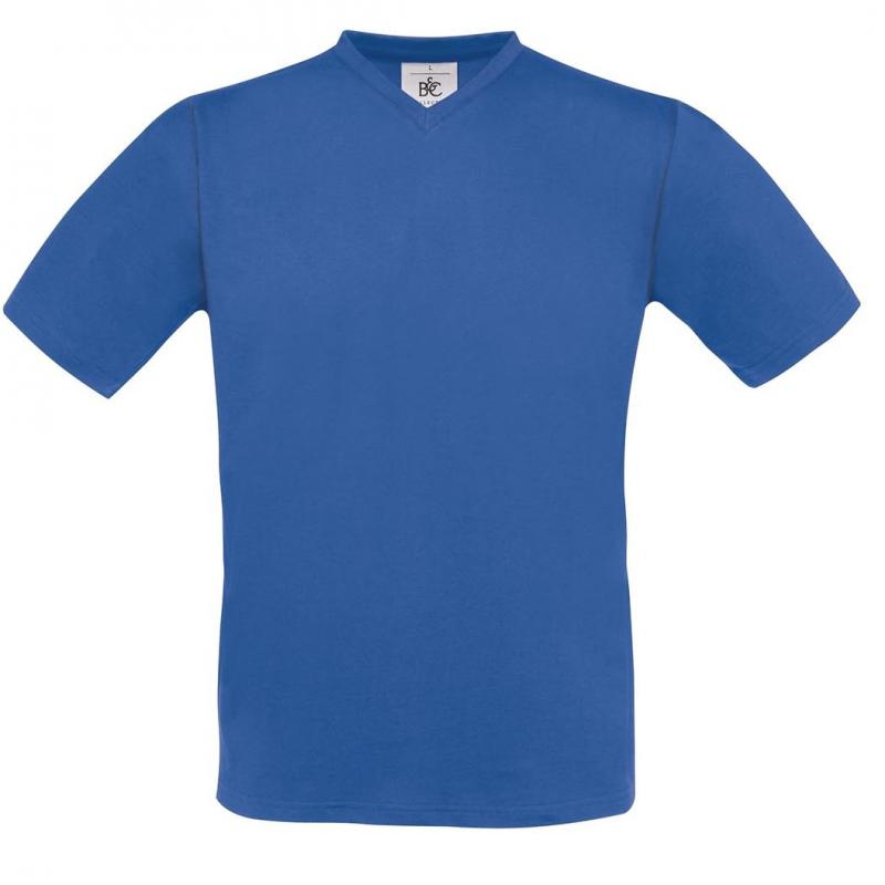 CAMISETA BC EXACT 150 V NECK 145 ROYAL BLUE
