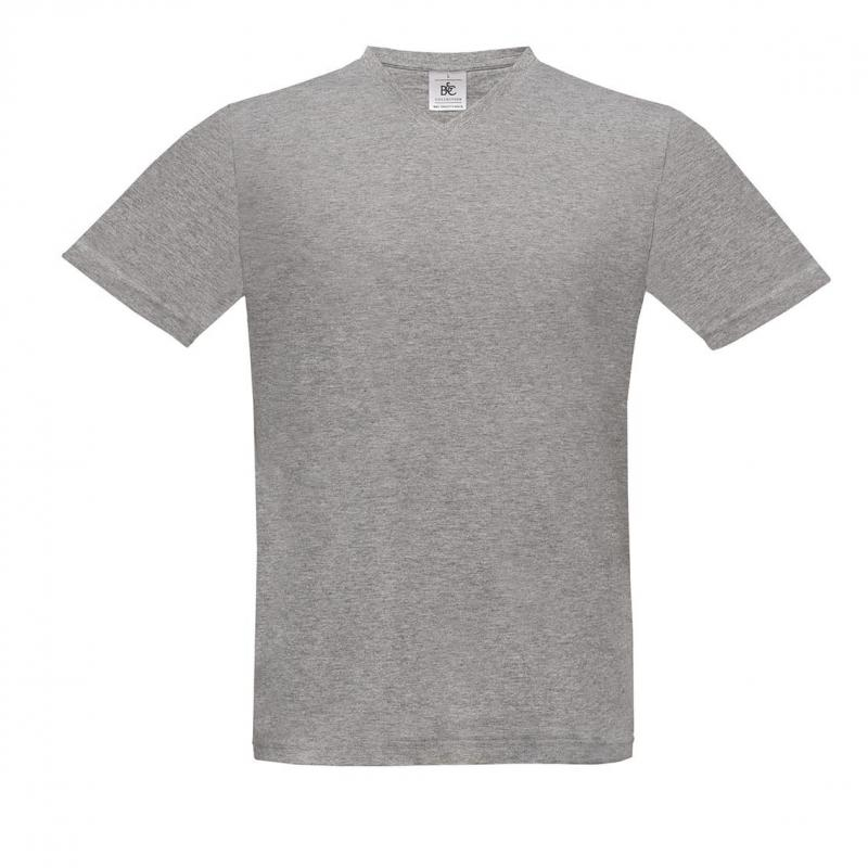 CAMISETA BC EXACT 150 V NECK 145 SPORT GREY