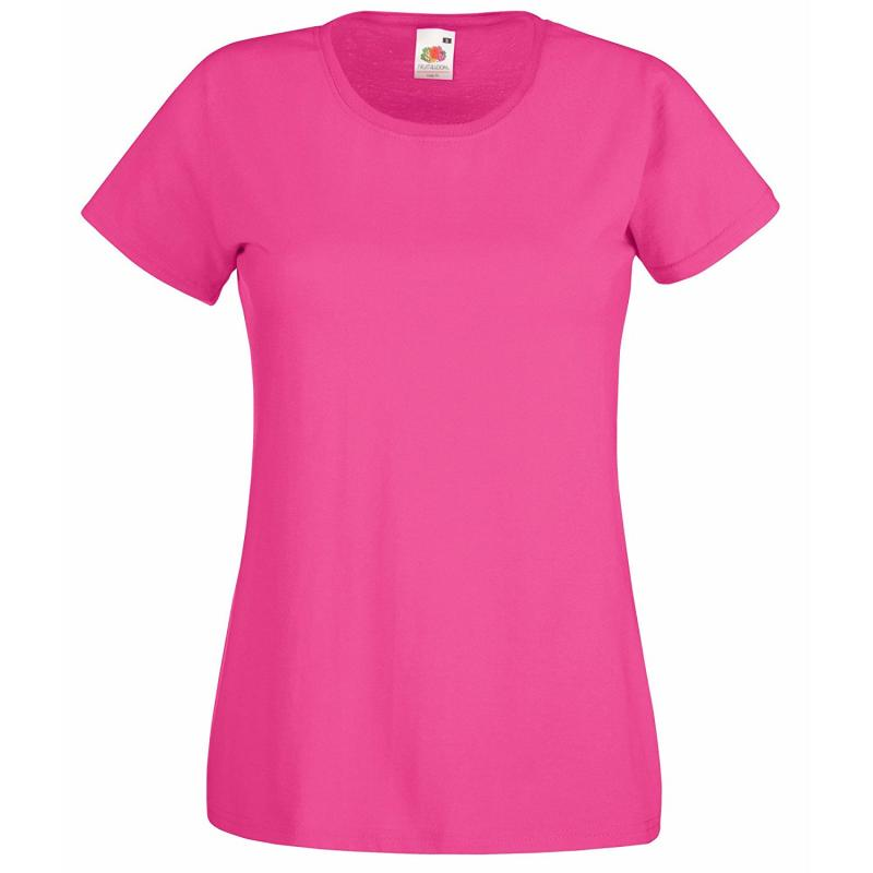 Camiseta Value Mujer Fruit Of The Loom