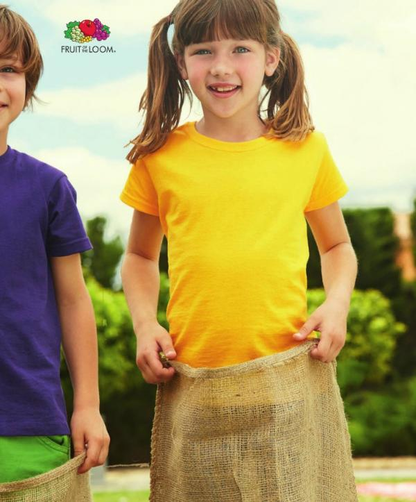 CAMISETAS FRUIT OF THE LOOM VALUE NIÑA K