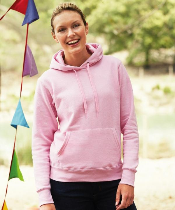 Sudaderas Fruit of the loom LIGHTWEIGHT CAPUCHA MUJER